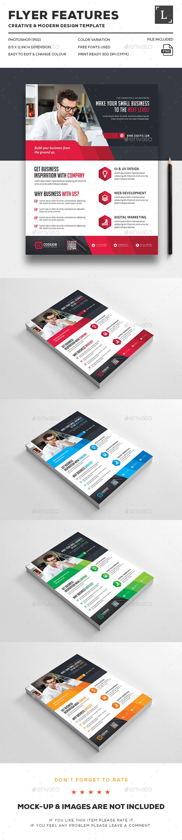 147 best flyer design images on pinterest flyer design corporate flyers reheart Gallery