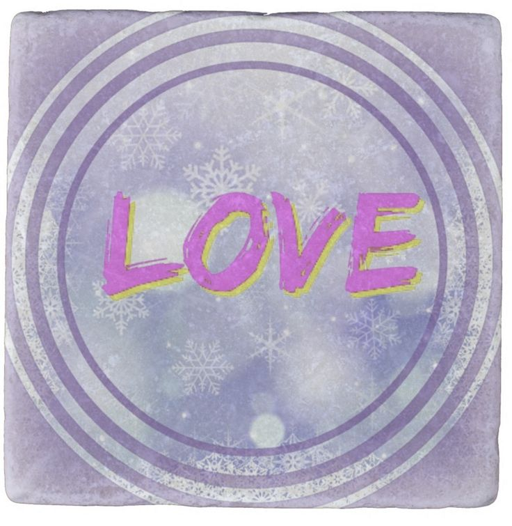 """I wanted to capture some of the colours we traditionally associate with the word """"Love"""". Would this marble coaster be a suitable gift for someone special in your life? They may never use it except as a piece of home decor!"""