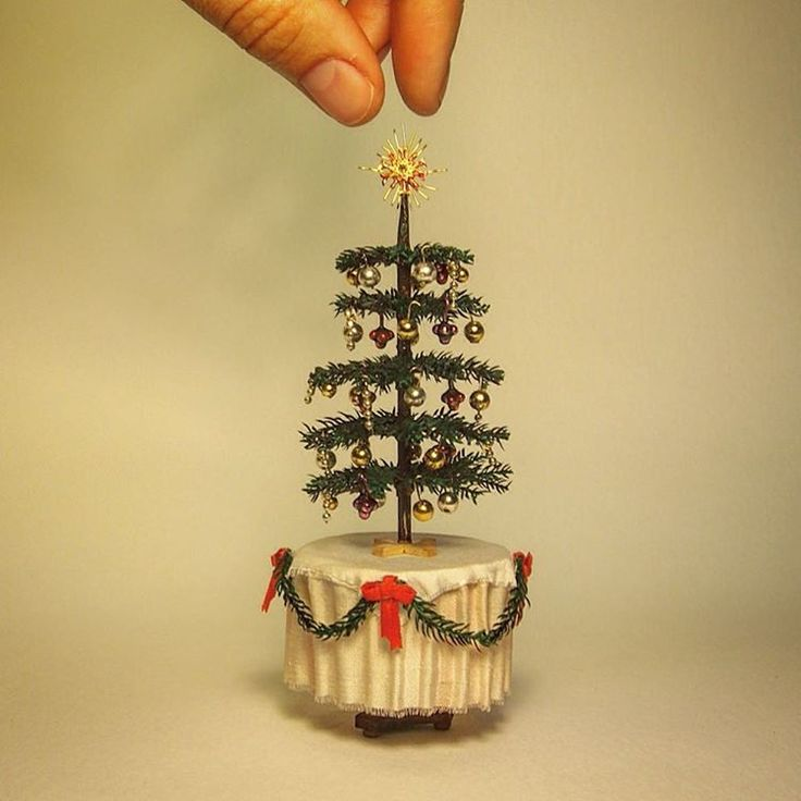 Miniature Christmas Tree