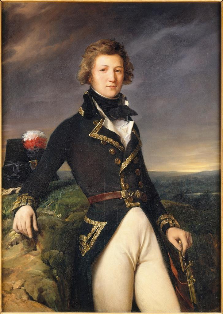 Léon Cogniet: Portrait of Louis-Philippe d´Orléans, duke of Chartres, 1792