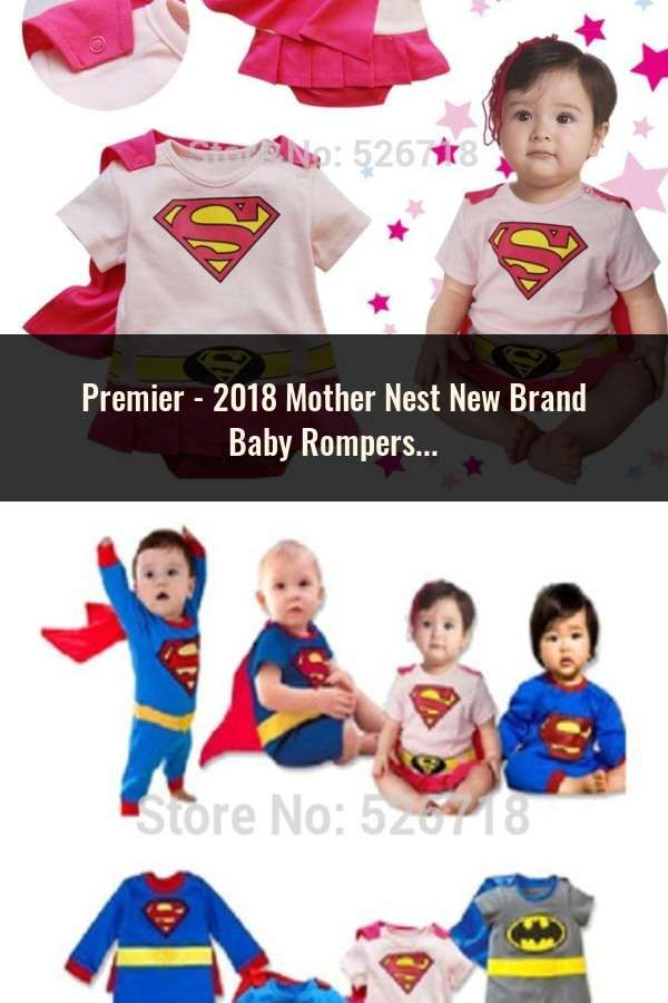 895288a85231 2018 Mother Nest New Brand Baby Rompers Long Sleeves 2 Pcs Soft ...
