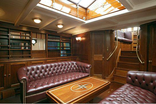 Luxury yacht Merrymaid - Interior