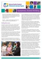 Newsletter 43 Sustained, shared thinking