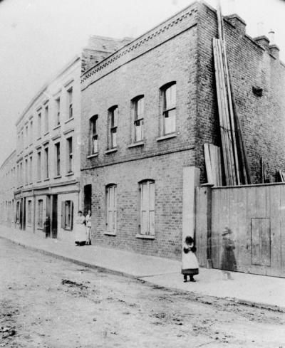 Bidder Street, Canning Town.