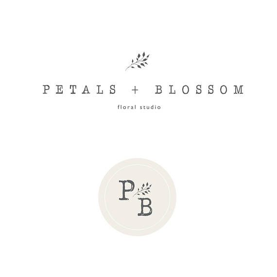 Premade Logo Feminine logo   Logo Design Brand Design