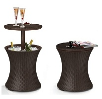 Is it a table that turns into a cooler, or a cooler that turns into a table??? Either way, I want one.: Cool Bar