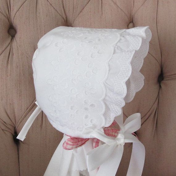 77 Best Images About Baby Bonnets On Pinterest Ruffle