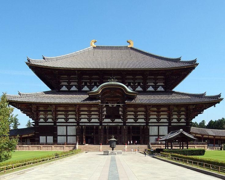 Japan - Todai-ji Buddhist complex of Nara