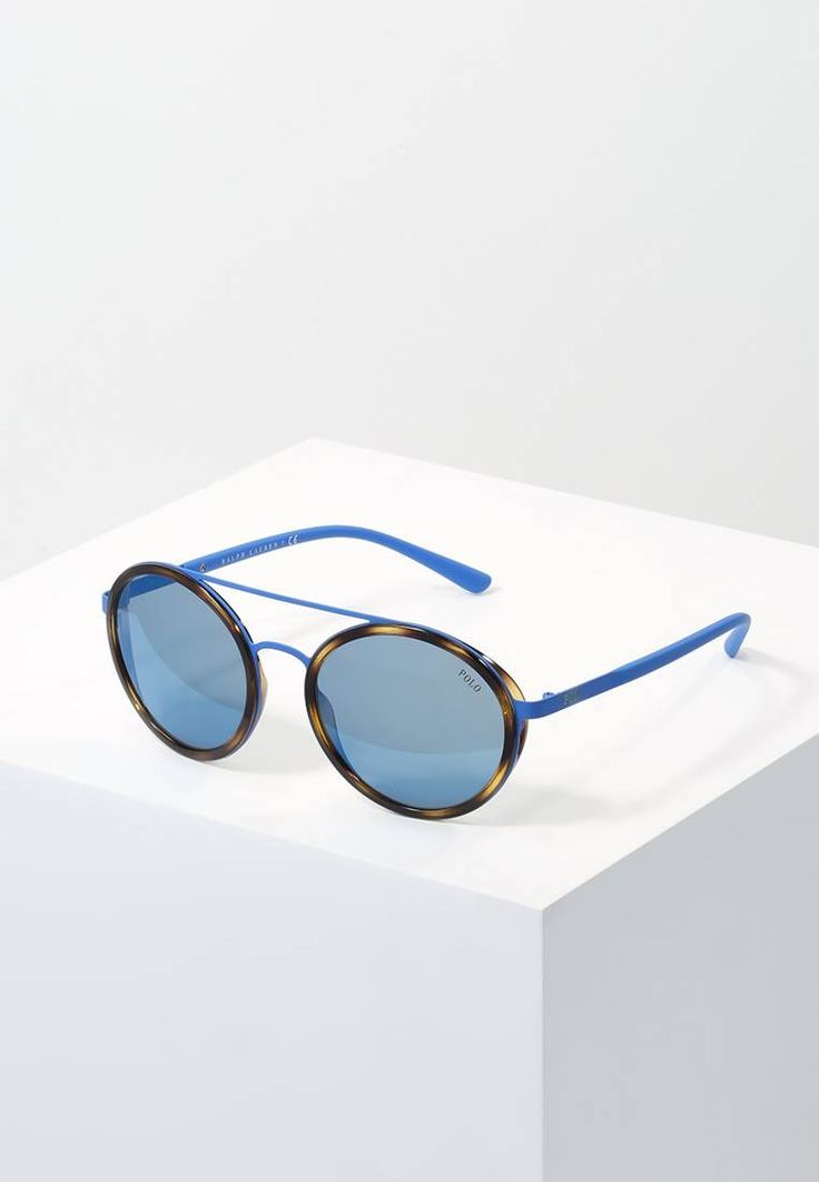 Polo Ralph Lauren. Sonnenbrille - blue. Breite:13.7 cm bei Größe 53. Bügellänge:14 cm bei Größe 53. Stegbreite:1.5 cm bei Größe 53. UV-Schutz:ja. Brillenform:oval. Brillenetui:Hartschale