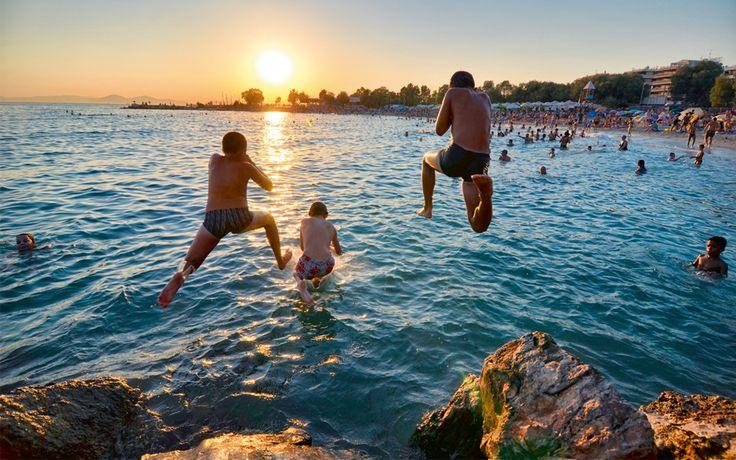 Athens Riviera, a Coastal Escape - Greece Is 'Kalamaki Beach' Alimos #AthensCoast
