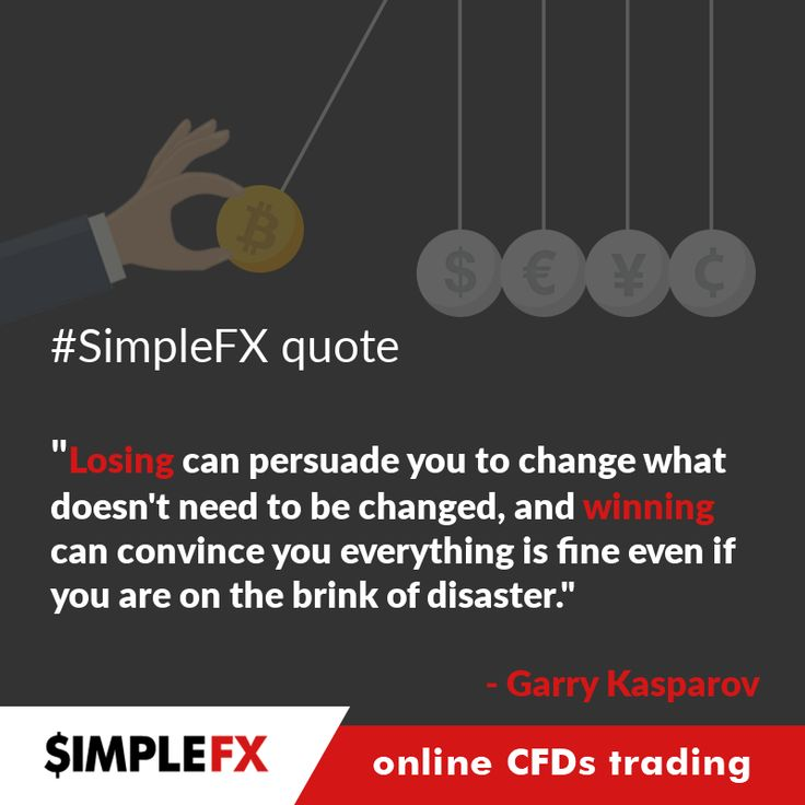 SimpleFX quote for this week, by Garry Kasparov.  Trade Forex and cryptocurrencies with https://simplefx.com/