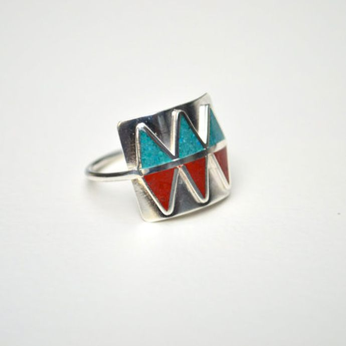 Make a statement with this tribal ring!