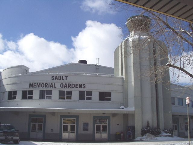 Sault Ste. Marie, Ontario..the memorial gardens before it was torn down