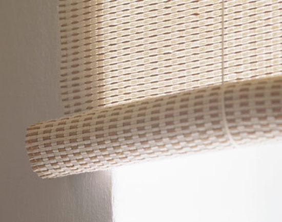 Woodnotes blinds detail.