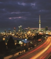 Auckland di notte...#Nuova Zelanda| Australia