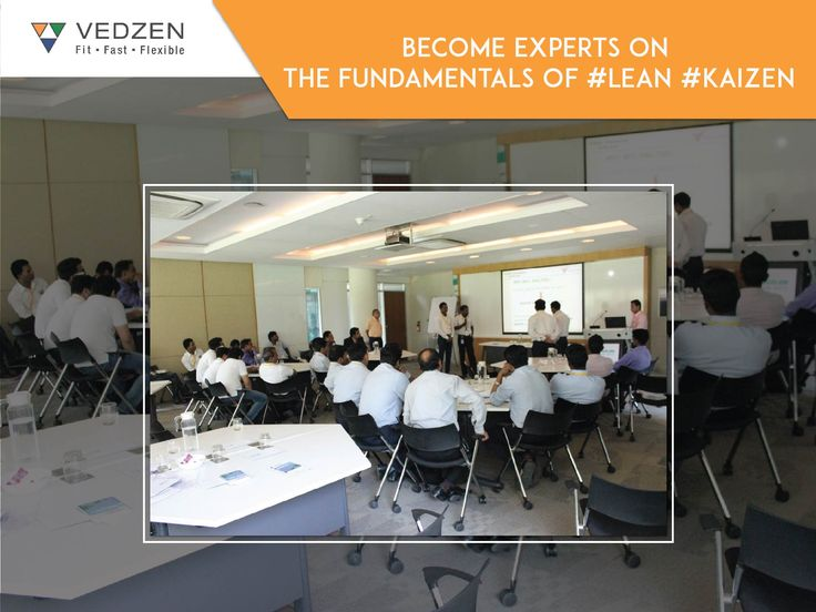 We help you inculcate best practices in your working habits to drive your organisation towards business excellence. Become experts on the fundamentals of #LeanKaizen. https://www.vedzen.com/lean-and-kaizen-assessment-and-diagnosis