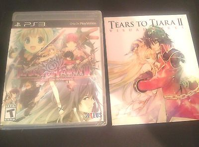 Tears to Tiara II : Heir of the Overlord (PS3)  w / 31-Page Artbook  In Stock !!