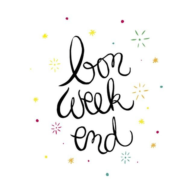 Bon week-end [crayon d'humeur]