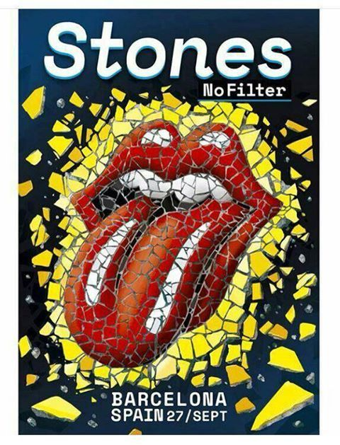 The Rolling Stones - No Filter Tour - Barcelona - Spain