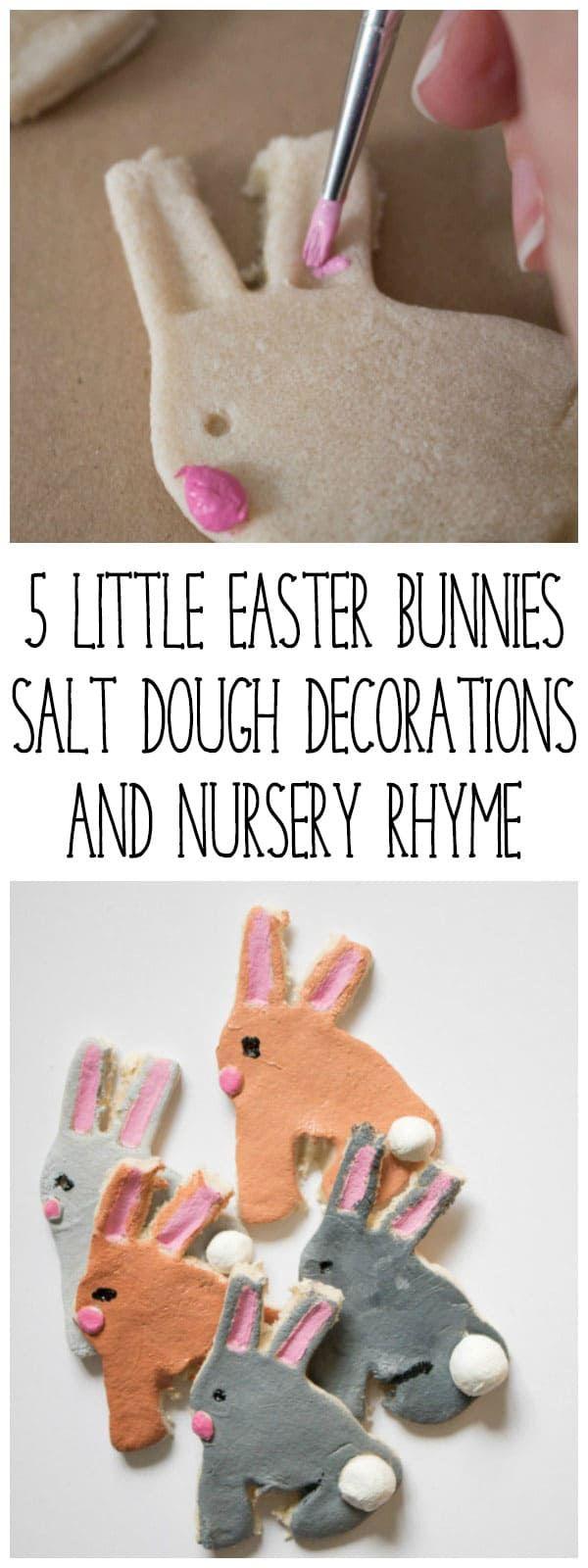 Easy Easter Crafts for Kids: Salt Dough Bunny