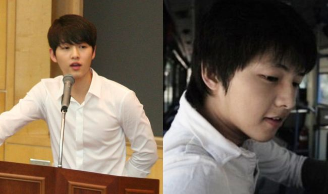 Song Joong Ki's University Student Photos Revealed; Fans Surprised He Doesn't Seem To Age At All