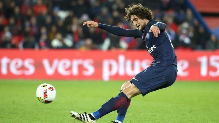 Adrien Rabiot was injured while on international duty with France.