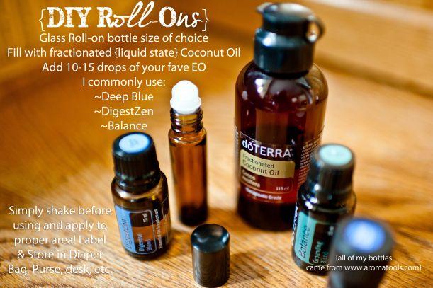 Roll-On: Deep Blue, DigestZen & Balance