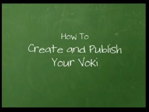 ▶ Official Voki Tutorial: How to Create and Publish Your Voki - YouTube (1,2,3,4,5,7,10,11)