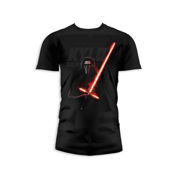 Star Wars Episode 7 T-Shirt Kylo Ren Lichtschwert. Hier bei www.closeup.de
