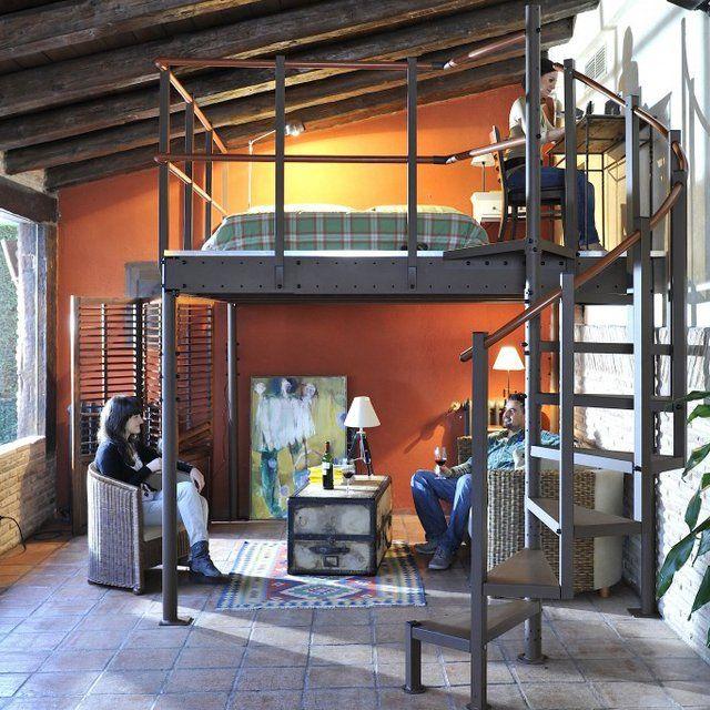 17 best ideas about mezzanine 2 places on pinterest for Loft kits home depot