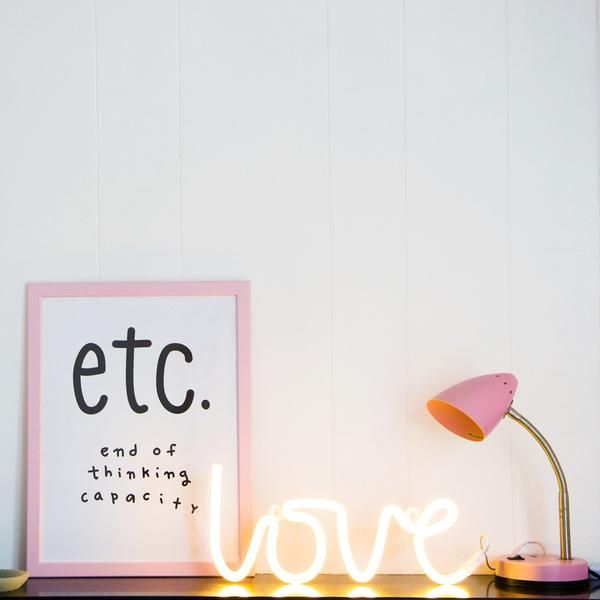 Neon LED Love Wall Light - PREORDER-WALL LIGHT-The Little House Shop