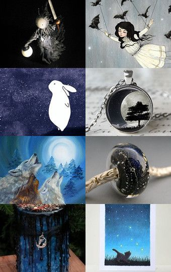 It's night... by Inna Starovoitova on Etsy--Pinned with TreasuryPin.com