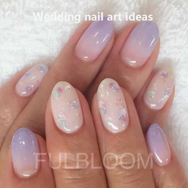 35 Simple Ideas For Wedding Nails Design Nailideas Shortnaildesigns Kawaii Nails Nail Art Wedding Wedding Nails