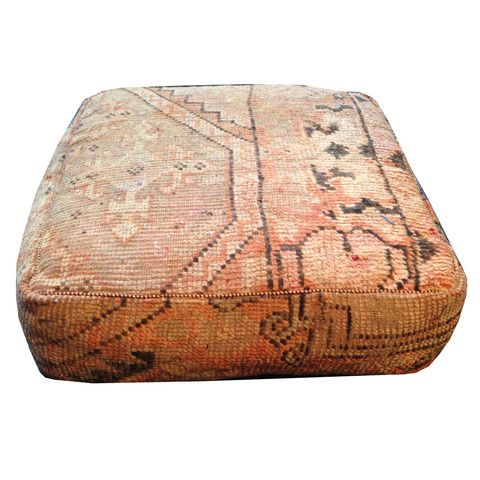 "Carpet Pouf : Alli - Sara Kate Studios- 10% off with code ""somethingnice"""