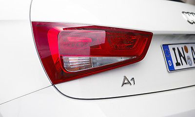 Audi a1 #chrome rear badge a 1 schriftzug #emblem new genuine #original, View more on the LINK: http://www.zeppy.io/product/gb/2/371698470550/