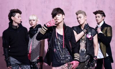 Nu'est, a new Kpop boy band. Haven't chosen a bias yet, but I'm leaning towards Ren. #kpop