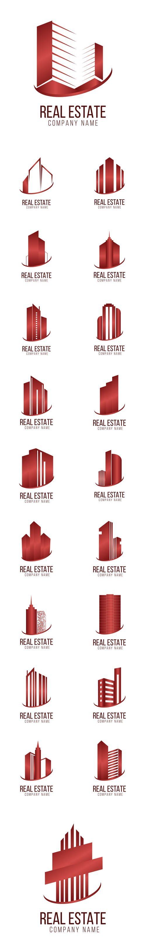 Vector Real Estate Logo Architecture Symbol                                                                                                                                                                                 More