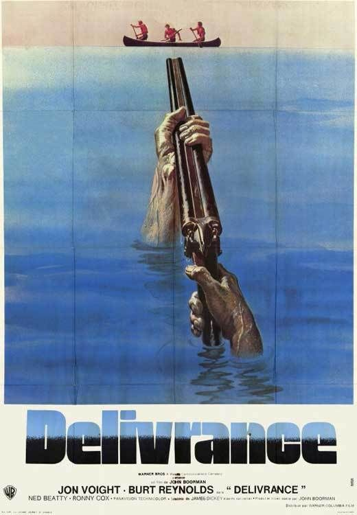 DELIVERANCE Movie POSTER 11x17 Foreign Jon Voight Burt Reynolds Ronny Cox Ned