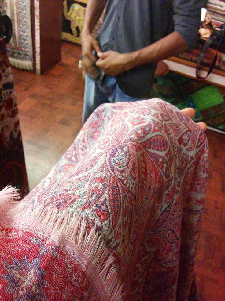 wool shawl
