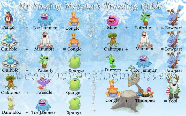 my singing monsters breeding guide plant island