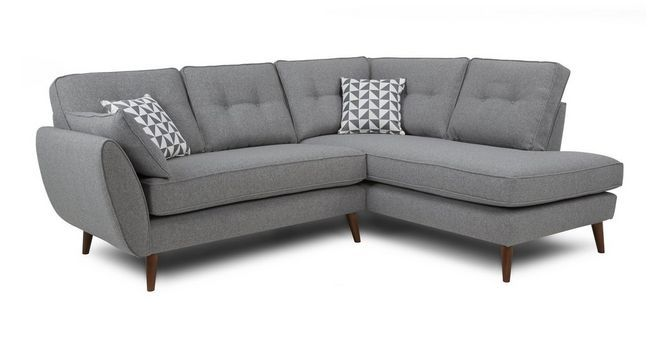Zinc Left Arm Facing Corner Group Dfs Living Dining Room Sofa Price Corner Sofa