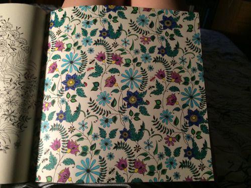 flor azul jardim secreto ? Doitri.com