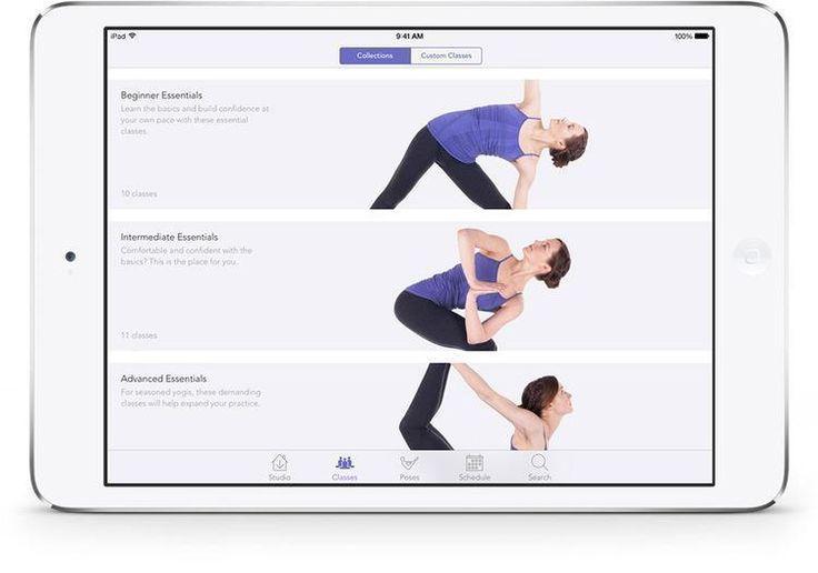 11. Yoga Studio App