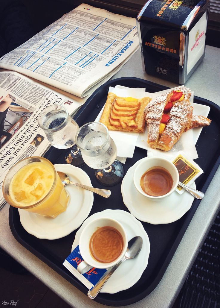 Desayuno a la italiana... 😏🇮🇹☺️ #asísí 💞 #Bologna #Italia