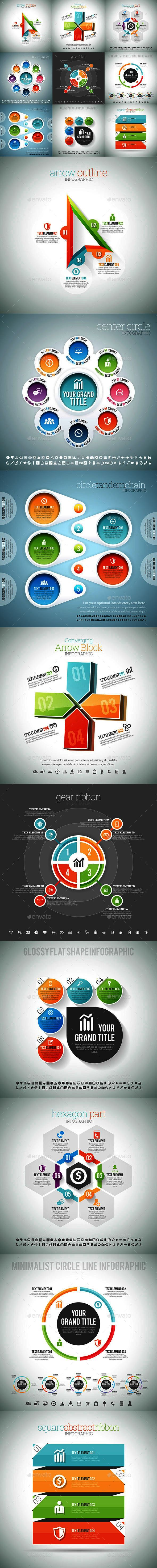 Infographic Set Template Vector EPS #design Download: http://graphicriver.net/item/infographic-set-12/12999552?ref=ksioks