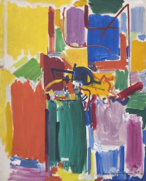 three abstract expressionists Abstract expressionism marks the shift of modern art away from paris and towards new york, the movement of the avant-garde from europe to america  part three if.