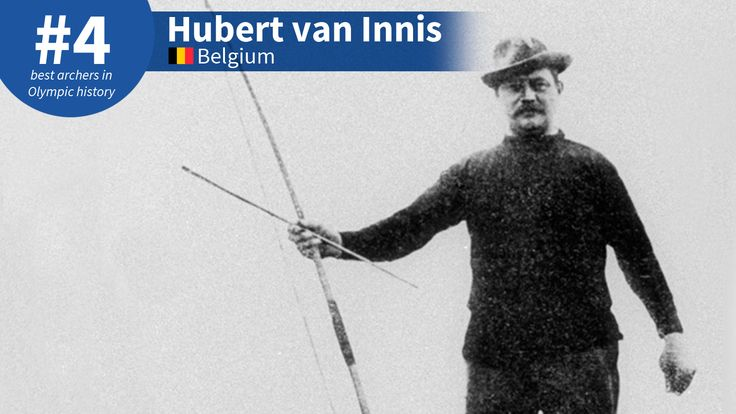 Best Olympic Archers of All-Time: #4 Hubert van Innis
