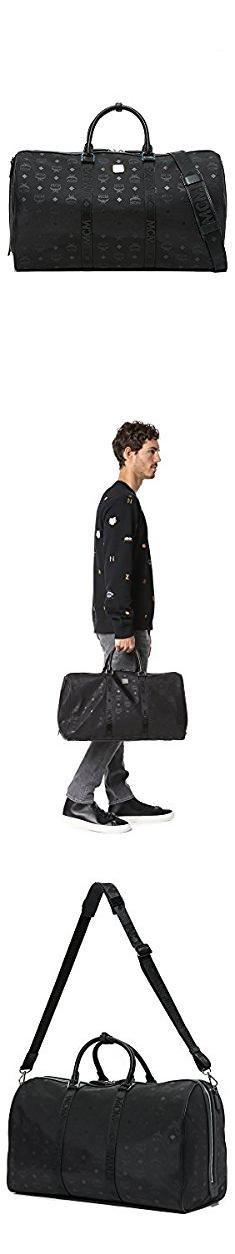 Mcm Bags For Men. MCM Men's Dieter Monogram Nylon Duffel Bag, Black, One Size.  #mcm #bags #for #men #mcmbags #bagsfor #formen