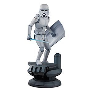 [Order of the day]Inspired by Ralph McQuarrie's pre-production artwork for <i>Star Wars: A New Hope</i>, Sideshow Collectibles presents this Stormtrooper Statue. Expertly crafted in 1:5th scale, it is depicted patrolling a corridor of the Death Star.