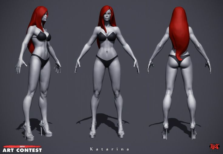 [Riot Art Contest] - Katarina - Polycount Forum